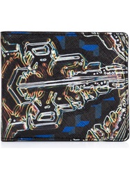 Pierre Hardy Printed Wallet Black