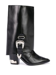 Toga Knee High Boot Extenders Black