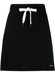 Dkny Drawstring Skirt Black