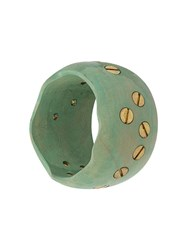 Corto Moltedo Coconut Bangle Green