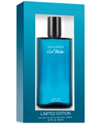 Davidoff Cool Water Eau De Toilette Spray 6.7 Oz