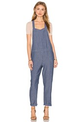 Sam And Lavi Roxy Overall Blue