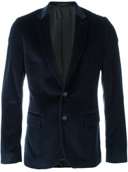Paul Smith Tailored Fit Blazer Blue