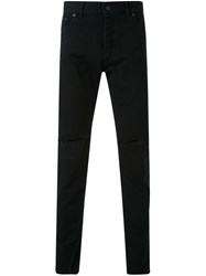 Hl Heddie Lovu Ripped Slim Fit Jeans Black