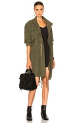 Nili Lotan West Military Jacket In Green