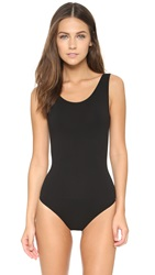 Yummie Tummie Ruby Scoop Neck Bodysuit Black