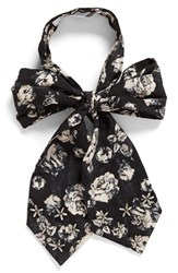 Bcbgeneration Women's Floral Bow Tie Scarf