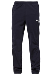 Puma Tricot Tracksuit Bottoms New Navy White Blue