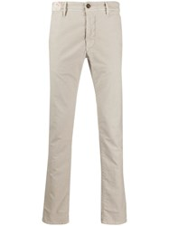 Incotex Casual Tailored Trousers Neutrals