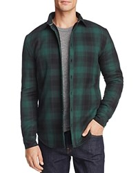 Sovereign Code Flannel Yahoo Regular Fit Shirt Jacket Green