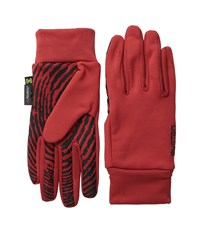 Burton Powerstretch Liner Fang 2 Extreme Cold Weather Gloves Red
