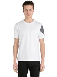 Moncler Gamme Bleu Light Cotton Jersey T Shirt