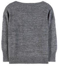 Etoile Isabel Marant Grace Alpaca Wool And Linen Blend Sweater Grey