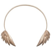 Jessica Robinson Angel Wing Choker With Diamonds