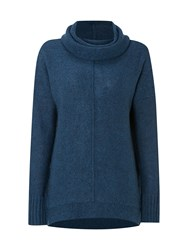White Stuff Inuit Jumper Dark Blue