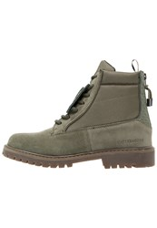 Cayler And Sons Hibachi Laceup Boots Army Green Khaki
