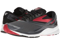 Brooks Launch 4 Anthracite Black High Risk Red Men's Running Shoes