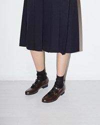 Comme Des Garcons Girl Two Strap Mary Jane Brown