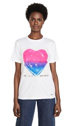 Coach 1941 Jello Heart T Shirt White