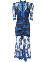 Alice Mccall Honeymoon Midi Dress Blue