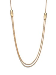 Gucci Bamboo 18K Yellow Gold Box Chain Necklace