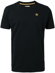 Kappa 222 Banda T Shirt Men Cotton M Black
