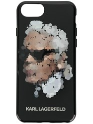 Karl Lagerfeld Yoni Alter Iphone 8 Case Black