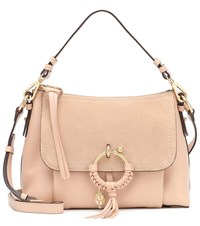 See By Chloe Joan Small Leather Crossbody Bag Pink