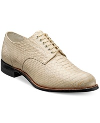 Stacy Adams Shoes Madison Oxfords Men's Shoes Ivory