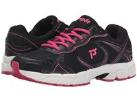 Propet Xv550 Black Pink Women's Flat Shoes