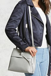 Forever 21 Structured Faux Leather Bag