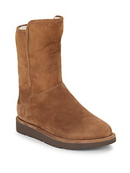 Ugg Abree Sheep Fur Lined Suede Boots Bruno