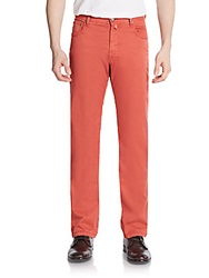 Corneliani Colored Straight Leg Jeans