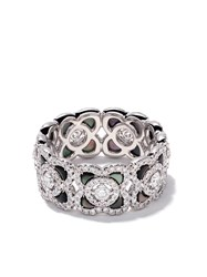 De Beers 18Kt White Gold Enchanted Lotus Mother Of