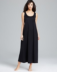 Hanro Nightgown Cotton Deluxe Tank Black