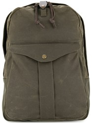 Filson Loose Wide Backpack Green