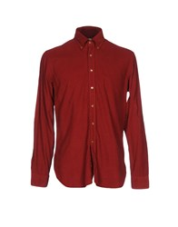 Ingram Shirts Maroon