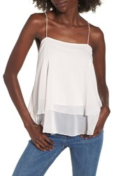 Leith Tiered Chiffon Camisole Pink Secret
