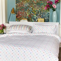 Cath Kidston Button Spot Duvet Set Multi Double