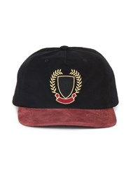 42d75fd26 Yeezy Embroidered Snapback Cap Cotton Suede Black