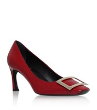 Roger Vivier Decollete Belle Patent Pumps 70 Female Red