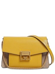 Givenchy Gv3 Small Swede And Leather Shoulder Bag Array 0X58f5768