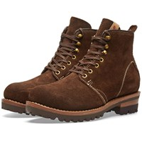 Visvim Zermatt Boot Folk Brown
