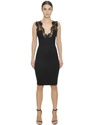 Christies Microfiber Shapewear And Lace Dress