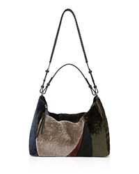 Allsaints Kita East West Tote Taupe Brown