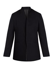 Kilgour Single Breasted Wool Blazer Navy
