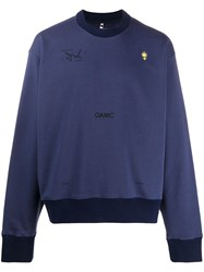 Oamc Logo Embroidered Sweatshirt 60