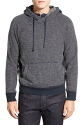 Nordstrom 'Coleman' French Terry Hoodie Blue