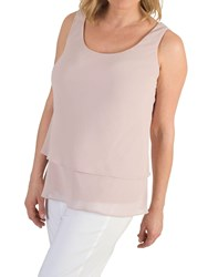 Chesca Double Layer Cami Powder Pink