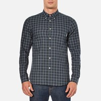 Paul Smith Ps By Men's Tailored Fit Long Sleeve Shirt Green
